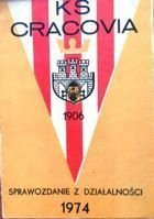 KS Cracovia The report on the activities of 1974
