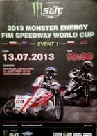 2013 Speedway World Cup Semifinal official programme (Czestochowa, 13.07.2013)
