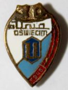 30 years of KS Unia Oswiecim (enamel)