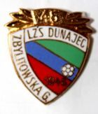 45 years LZS Dunajec Zbylitowska Góra with garland (enamel)