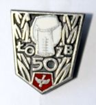 50 years of Lodz District Boxing Association (enamel)
