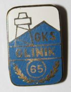 65 years of GKS Glinik Gorlice (enamel)