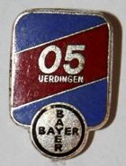 Bayer 05 Uerdingen (enamel, with signature)