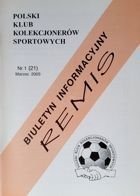 """Draw"" - Bulletin of Polish Sport Souvenirs Collectors Club - volume 1(21) (March 2003)"
