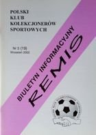 """Draw"" - Bulletin of Polish Sport Souvenirs Collectors Club - volume 3(19) (September 2002)"
