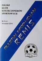 """Draw"" - Bulletin of Polish Sport Souvenirs Collectors Club - volume 3(67) September 2014"