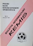 """Draw"" - Bulletin of Polish Sport Souvenirs Collectors Club - volume 3 (September 1998)"