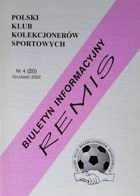 """Draw"" - Bulletin of Polish Sport Souvenirs Collectors Club - volume 4(20) (December 2002)"