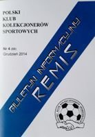 """Draw"" - Bulletin of Polish Sport Souvenirs Collectors Club - volume 4(68) December 2014"