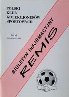 """Draw"" - Bulletin of Polish Sport Souvenirs Collectors Club - volume 4 (December 1998)"
