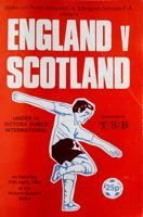 England - Scotland U15 Victoria Shield International (30.04.1983) official match programme