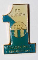 FC Zurich first team (with signature and number)