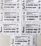 FK Viktoria Zizkov home tickets 2011-2014 (7 items)