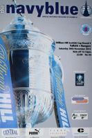 Falkirk FC - Rangers FC Scottish Cup Round 4 matchday programme (30.11.2013)