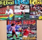 Fotbal monthly magazine (Czech Republic) - 5 issues (1991-1995)