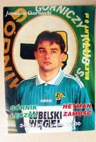 Gornik Leczna - Hetman Zamosc Second league match ticket (24.04.1999)