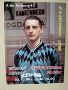 Gornik Leczna - Petrochemia Plock Second league match ticket (03.10.1998)