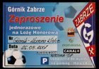 Gornik Zabrze - Korona Kielce Orange Ekstraklasa invitation (26.05.2007)