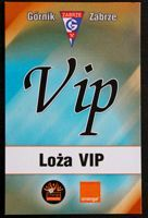 Gornik Zabrze VIP lounge entry pass (Orange Ekstraklasa 2006/2007)