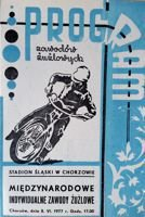 International Speedway Race official programme (Chorzow, 05.06.1977)