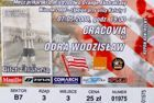 KS Cracovia - MKS Odra Wodzislaw Slaski Orange Ekstraklasa (07.05.2008) ticket