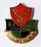 KS Sparta Szepietowo with garland (enamel)