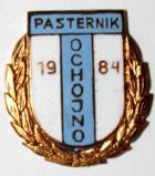 LKS Pasternik Ochojno with garland (enamel, signature with number)