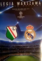Legia Warsaw - Real Madrid CF UEFA Champions League programme (02.11.2016)