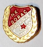 NK Borac Podvinje 1929-1979 with garland (lacquer with signature)