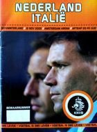 Netherlands - Italy official friendly match programme (12.11.2005)