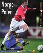 Norway - Poland World Cup 2002 qualifying (24.03.2001) official programme