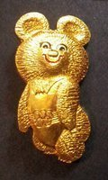 Olympic Games Moscow 1980 - Mascot Mishka (lacquer)
