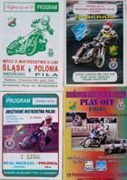 Polonia Pila I and II speedway League programmes (1993-1997)