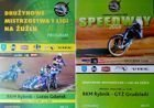 RKM Rybnik - Lotos Gdansk and GTZ Grudziądz speedway league programmes (06.05.2007 and 04.05.2008)