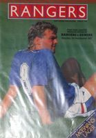 Rangers FC - Dundee FC Premier Division matchday programme (05.09.1987)