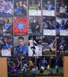 Rangers FC official programmes 2013-2014 season (19 items) + 5 tickets