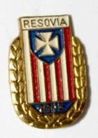 Resovia Rzeszow with garland small (lacquer)