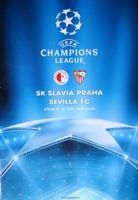 Slavia Prague - Sevilla FC UEFA Champions League official programme (12.12.2007)