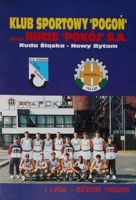 Sport Club Pogon Ruda Slaska. Guide of 1995/1996 season