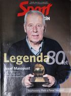 """Sport"" Magazine (Czech Republic) special edition: Josef Masopust. The Legend of 80 years"