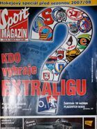 """Sport"" Magazine special edition (Czech Republic) - Ice hockey season 2007/2008"