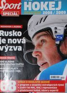 """Sport Special"" Magazine (Czech Republic) - Ice Hockey Extraliga fan's guide 2008/2009"