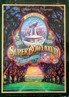 Super Bowl XXVIII. The Official Game Program (30.01.1994)