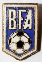 The Bermuda Football Association (enamel)