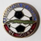 The Football Association of Cuba (enamel, signature)