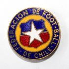 The Football Federation of Chile (enamel)