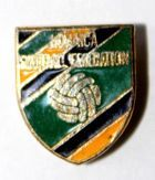 The Jamaica Football Association (enamel)
