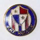 The Panamanian  Football Federation (enamel, signature)