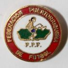 The Puerto Rican Football Federation (enamel, signature)
