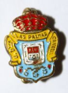 UD Las Palmas with safety pin (lacquer)